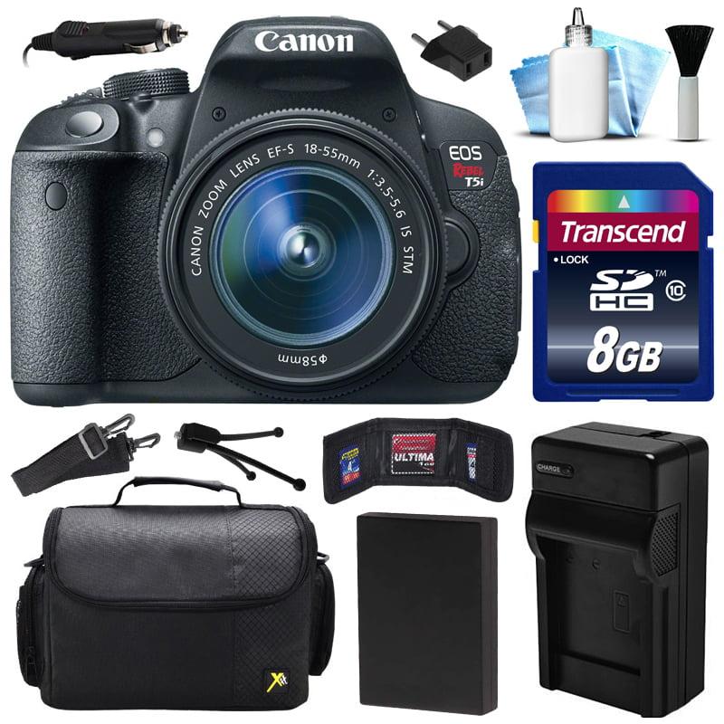 Canon EOS Rebel T5i 700D DSLR Digital Camera w/ 18-55mm L...