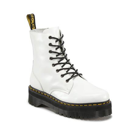 Dr. Martens Jadon 8 Eye Boot White Uk 6 (Doc Martens Kids Boots)