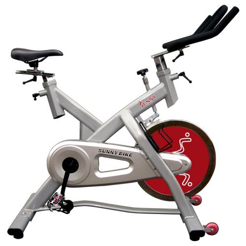 Sunny Health & Fitness Indoor Cycle Trainer - 55 lb. Flywheel
