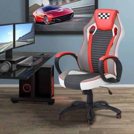 ZF Collections EMINENT Racing Gaming Highback Executive Office Chair (Blue) - image 12 of 12