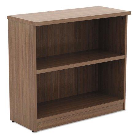 Modena Series (Alera Valencia Series Bookcase,Two-Shelf, 31 3/4w x 14d x 29 1/2h, Modern Walnut )