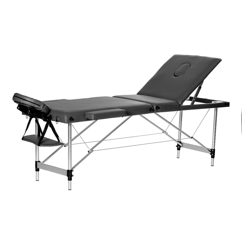 "Aluminium Alloy 3 Fold Portable 23"" Wide Massage Table Fa..."