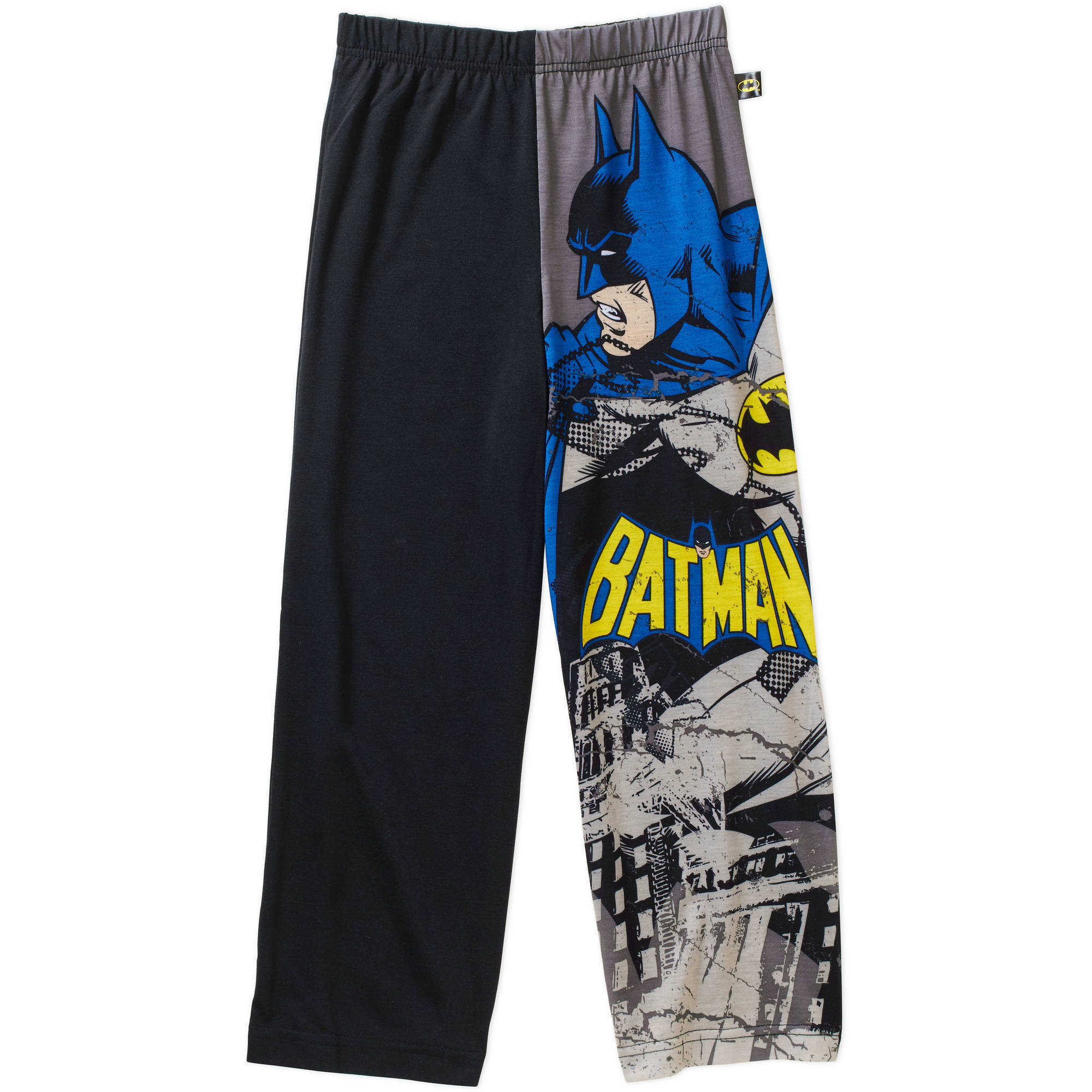 DC Comics Batman Attack Boys' Jersey Pajama Pants