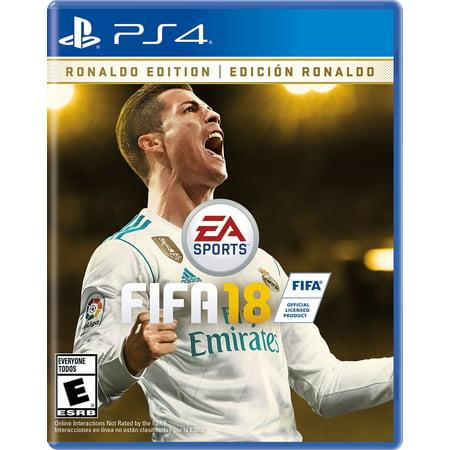 FIFA 18 Ronaldo Edition, Electronic Arts, PlayStation 4,