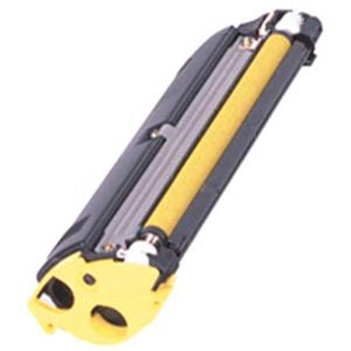 Original Konica Minolta MagiColor 2300 Series 1710517-002 Yellow Toner, (1,500 Pages)