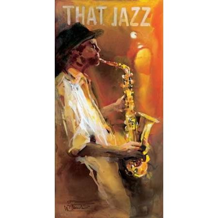 Jazz 4 Poster Print by Willem Haenraets