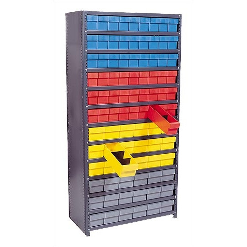 Quantum Storage Closed Shelving Storage System with Euro Drawers
