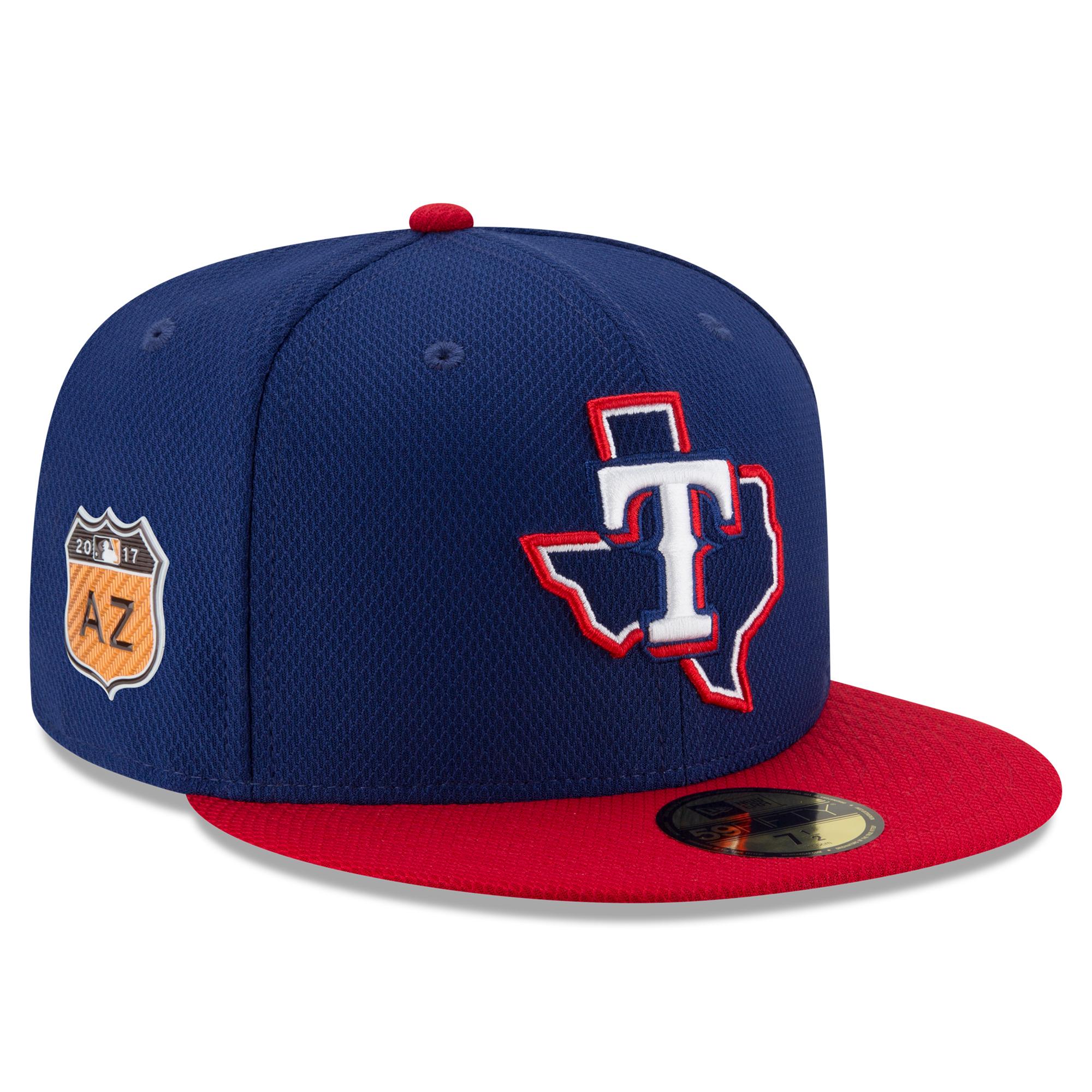 Texas Rangers New Era 2017 Spring Training Diamond Era 59FIFTY Fitted Hat - Royal