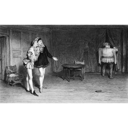 The Works of Shakspere (Imperial Edition) edited Charles Knight Published Virtue & Co Ltd 1870 William Shakespeare Fine art print Prince HenryPoins and Falstaff KIng Henry IV Ltd Editions Prints