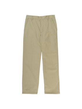 French Toast Boys School Uniform Pull-On Relaxed Fit Pants, Sizes 4-20 & Husky