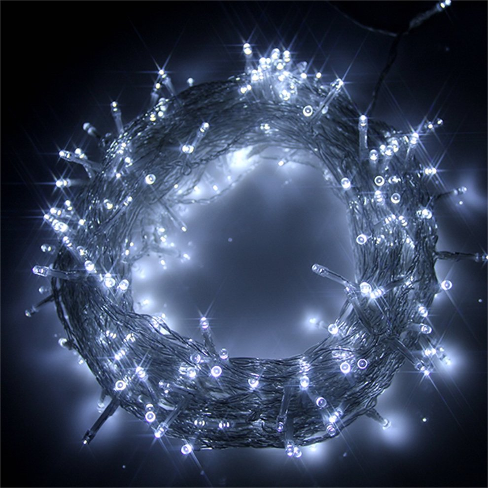 Indoor Outdoor Christmas Tree Lights String Lights Christmas Lights 300 LED 30m//98ft Fairy Lights Plug in Green Cable Outside Lights for Xmas//Home//Party//Christmas Decorations Blue