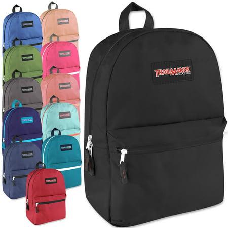Classic 17 Inch Backpack Case Pack 24 - Backpacks In Bulk