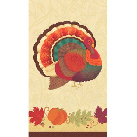 Thanksgiving Holiday Paper Guest Towels, - Thanksgiving Holiday