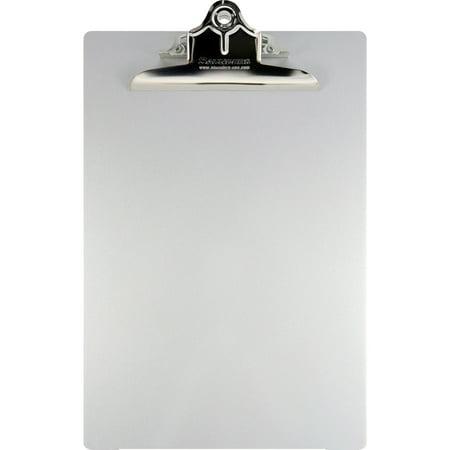 Saunders, SAU22517, Aluminum Round Corner Clipboards, 1 / Each, Silver