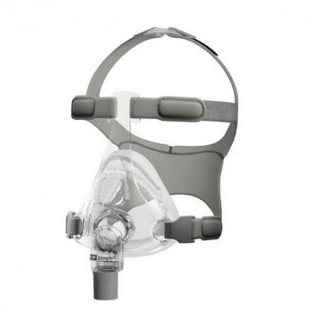 Fisher & Paykel Simplus Full Face CPAP Mask and Headgear (Large)