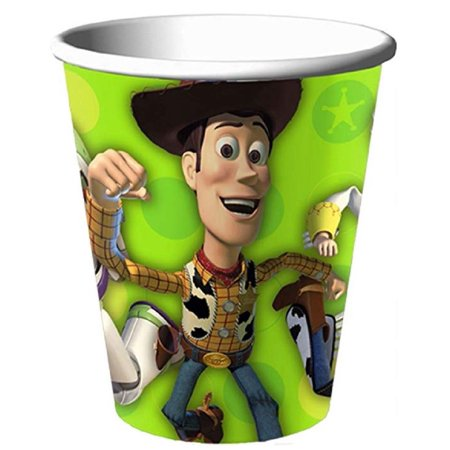Cups - Toy Story - 9oz Paper - 8ct - Toy Story Cups
