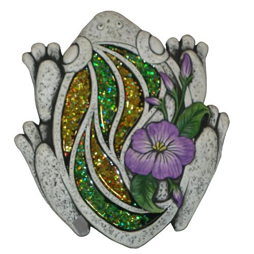 Woodland Imports Mosaic Frog Stepping Stone (Set of 4)