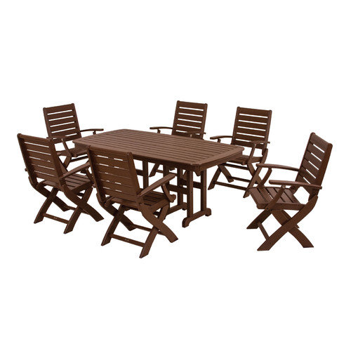 POLYWOOD Signature 7 Piece Dining Set