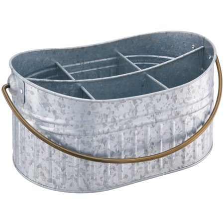 Better Homes & Gardens Galvanized Caddy, 1 Each (Buffet Caddy)