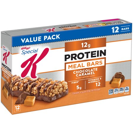 Kellogg's Special K Protein Meal Bar, Chocolate Caramel, 12g Protein, 12