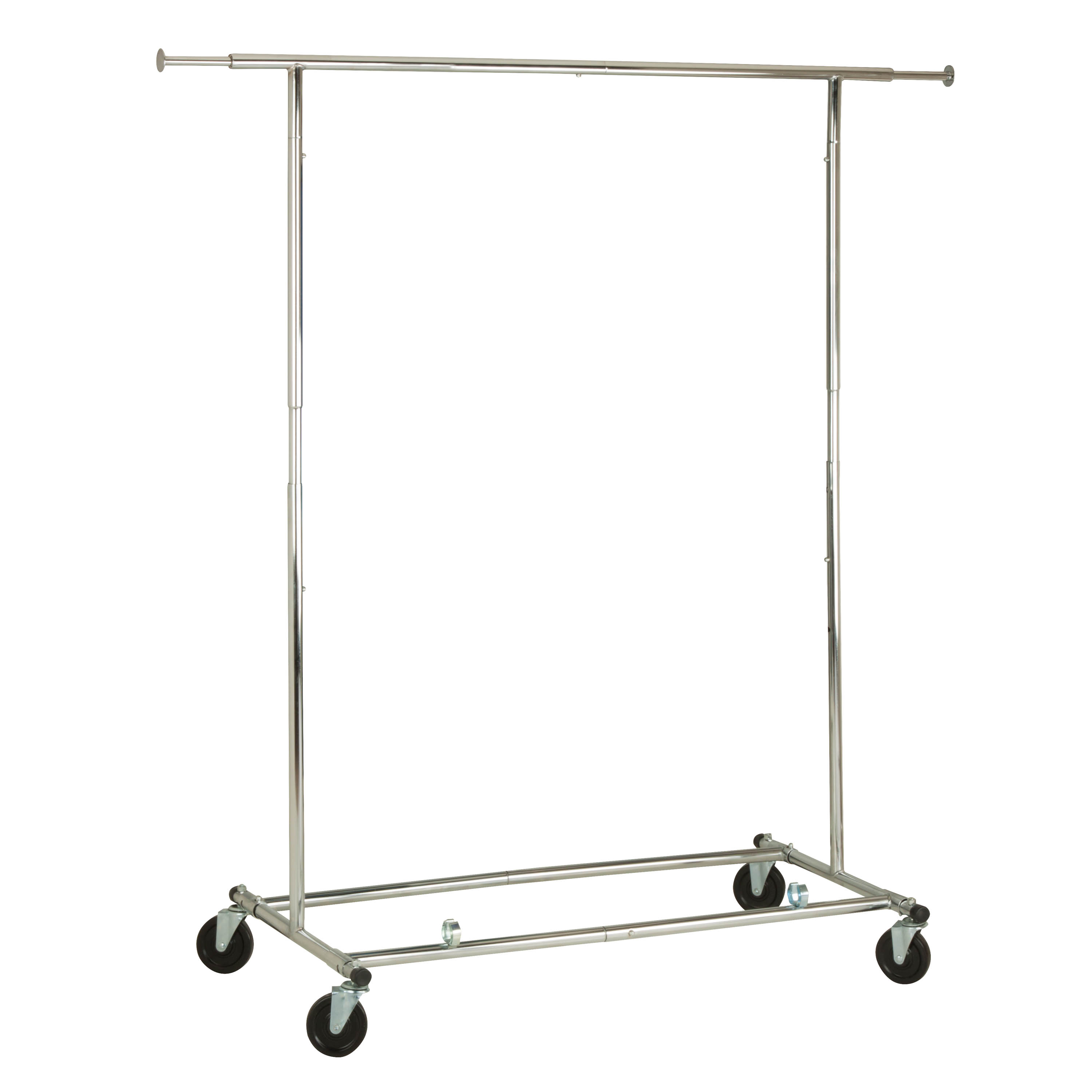 Honey Can Do Durable Collapsible Garment Rack, Chrome