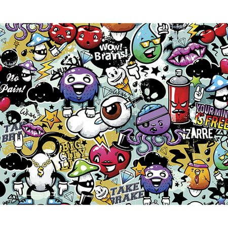 ohpopsi Graffiti Monster Wall Mural