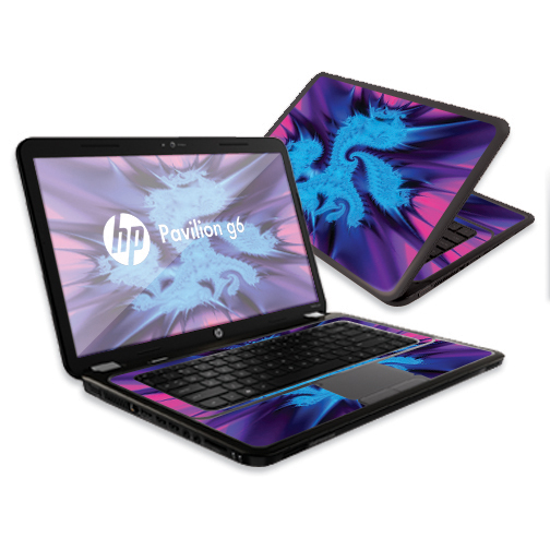 "Mightyskins Protective Skin Decal Cover for HP Pavilion G6 Laptop with 15.6"" screen wrap sticker skins"