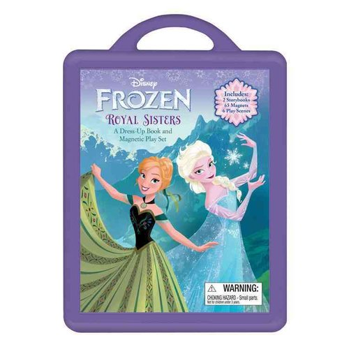 Frozen: A Dress-Up Book and Magnetic Play Set