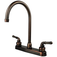 "RV / Mobile Home Kitchen Sink Faucet 14.5"" Spout - Oil Rubbed Bronze"