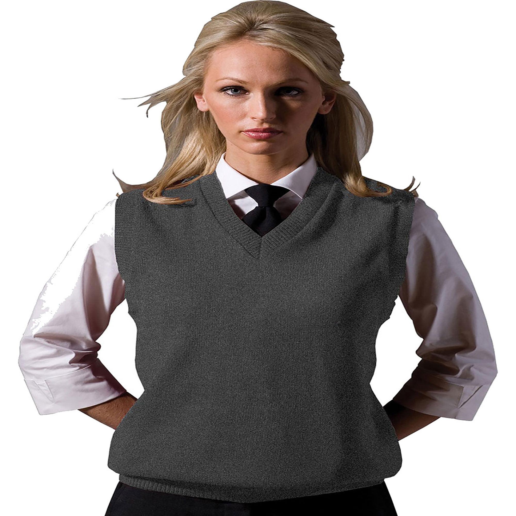 Edwards Garment Sleeveless V-Neck Durable Sweater Vest, Style 561