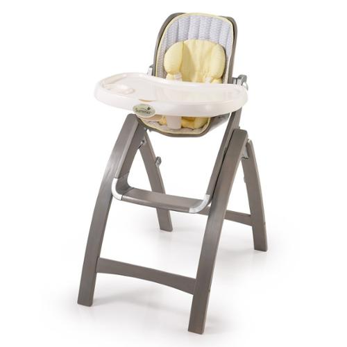 Summer Infant Bentwood High Chair - Chevron Leaf Gray