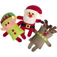 Sizzix Bigz Plus Q Die-Santa, Elf, Reindeer By Jennifer Jangles