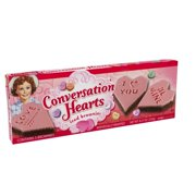 Little Debbie Family Pack Conversation Hearts Brownies Snack Cakes, 8.27 oz