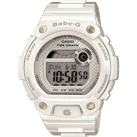 Baby-G Womens Shock Resistant digital Watch - White - BLX-100-7DR ()