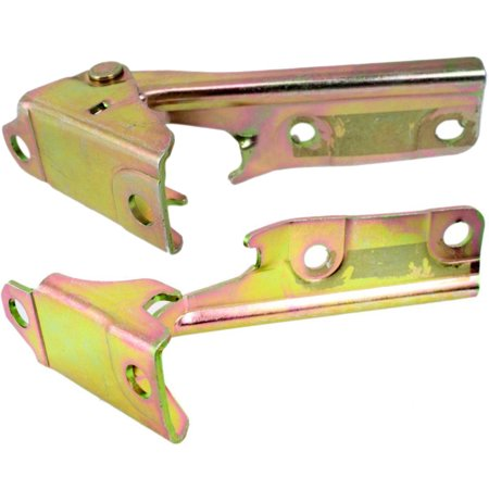 Parts N Go 2001-2006 Mitsubishi Montero Hood Hinge Pair Left/Right Driver & Passenger Side - MR292043, MI1236112 (Mitsubishi Montero Parts)