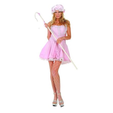 81418-S-M Small Lil Bo Peep Satin Costume - Bo Peep Outfit
