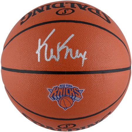 Kevin Knox New York Knicks Autographed Spalding Logo Basketball - Fanatics Authentic Certified (New York Knicks Autographed Basketball)