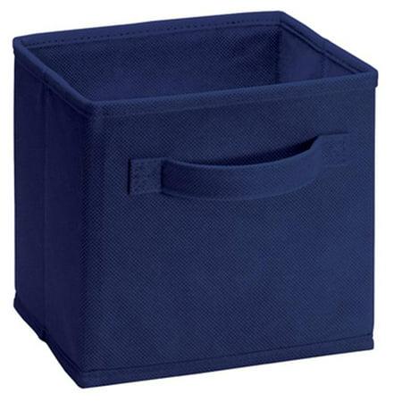 157700 Blue Cubeicals Mini Fabric Drawer, 2 Pack