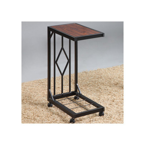 Wildon Home  Mobile Snack End Table