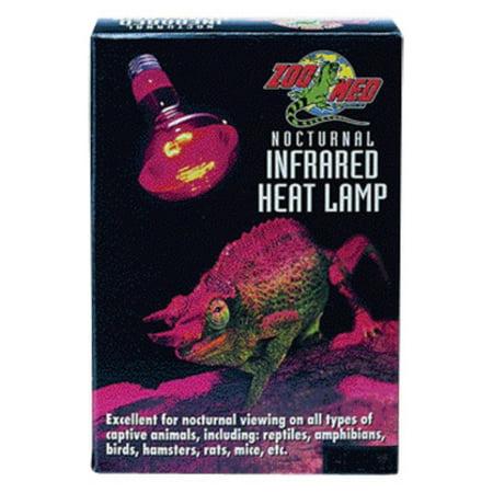 Zoo Med Nocturnal Infrared Heat Lamp, 50 Watt