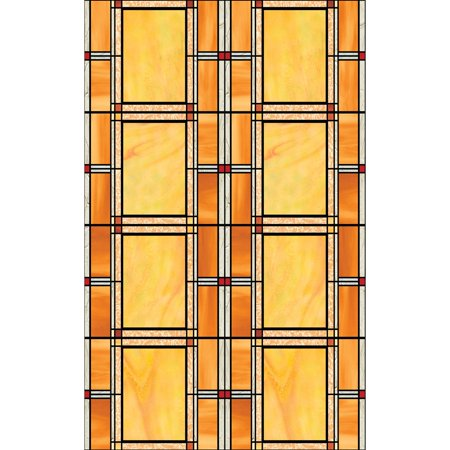 DC Fix Arts and Crafts Stained Glass Window Film - Set of 2