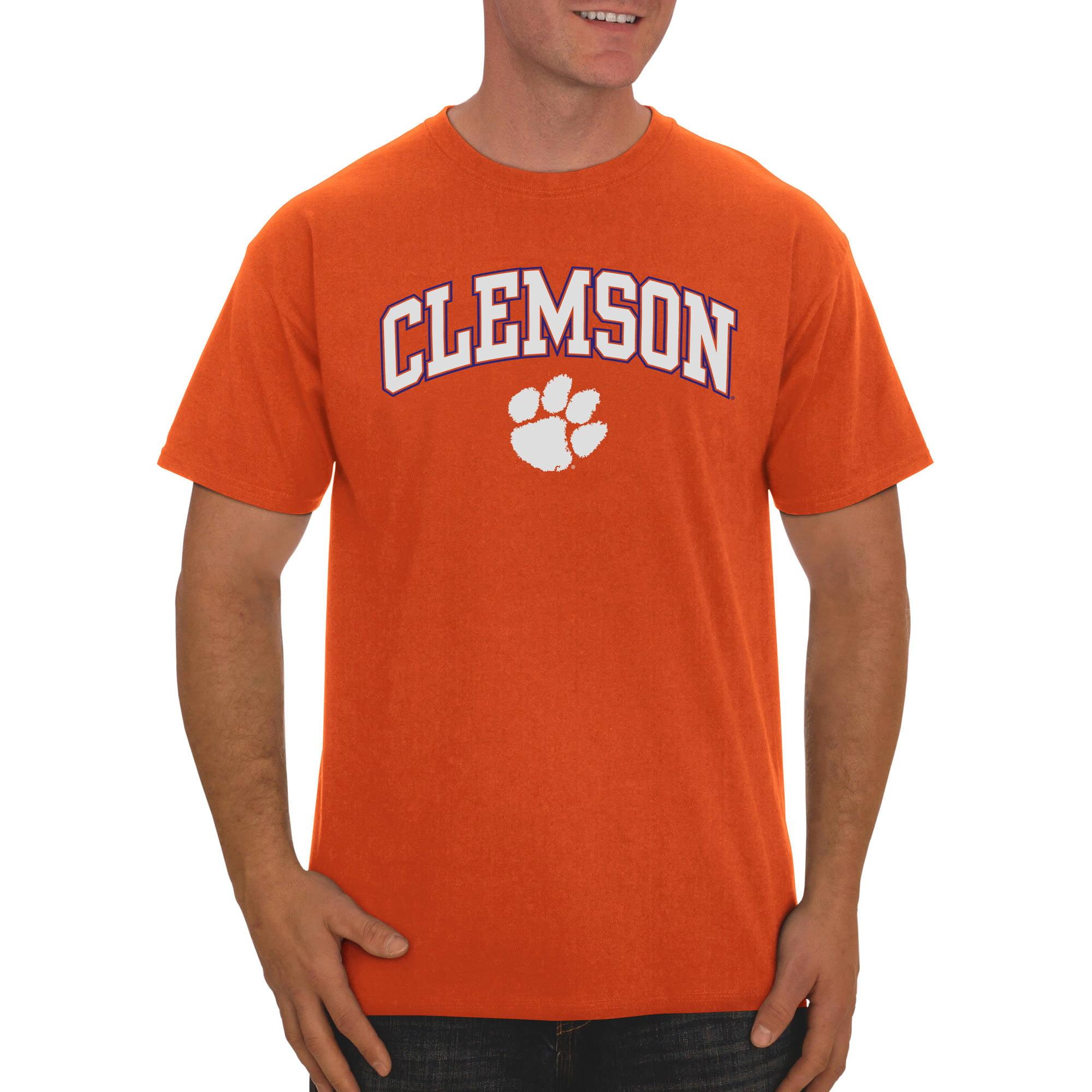 Russell NCAA Clemson Tigers Big Men's Classic Cotton T-Shirt