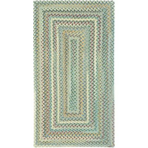 Sherwood Forest Concentric Braided Area Rug