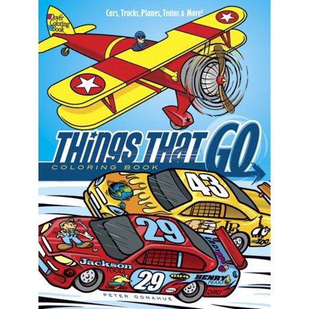 Things That Go Coloring Book](Coloring Books For Boys)
