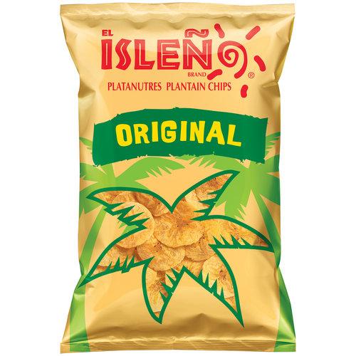 El Isleno Original Plantain Chips, 9 oz
