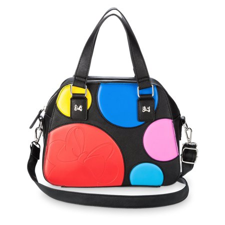 Disney Boutique Minnie Mouse Polka Dot Satchel New with Tags