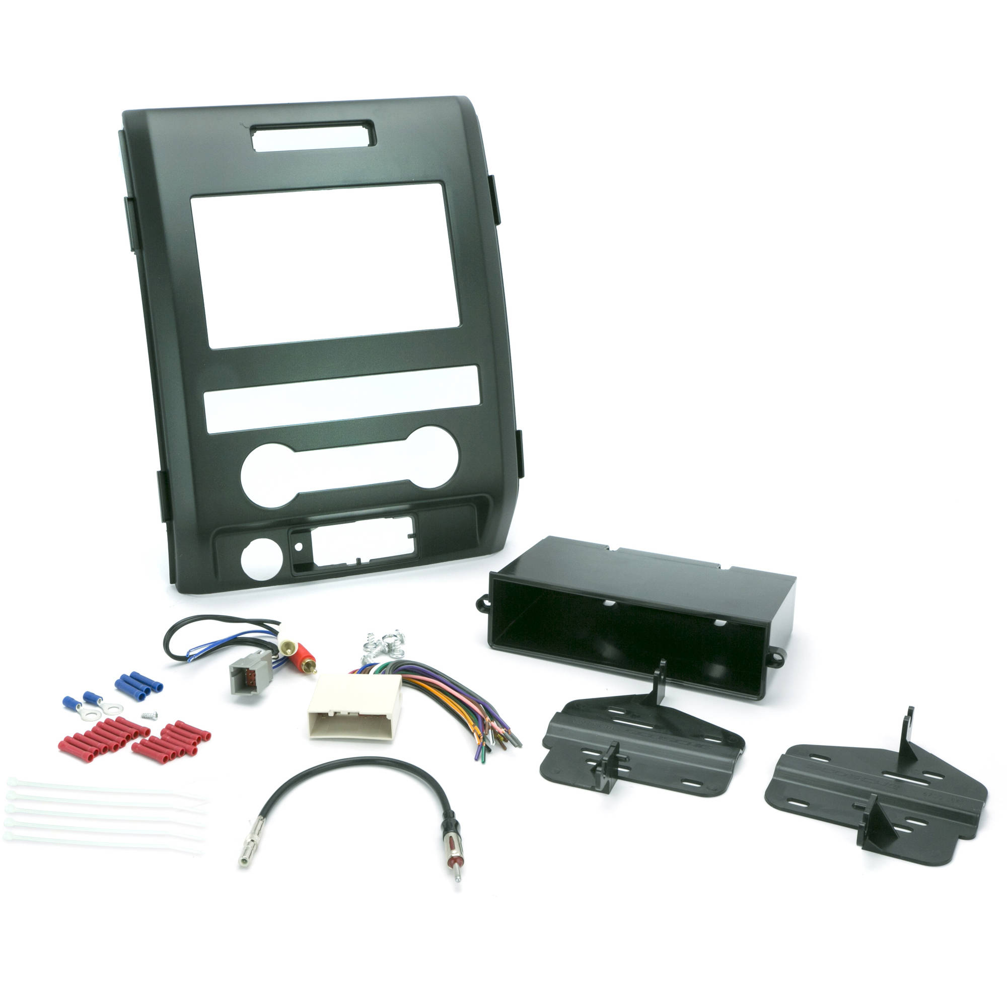 INSTALL CENTRIC ICFD7BN Ford 2009-12 F-150 XL (Base) Pickup Complete Car Stereo Installation Kit