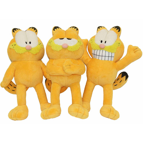 "Multipet International Inc 10"" Assorted Garfield Dog Toy"