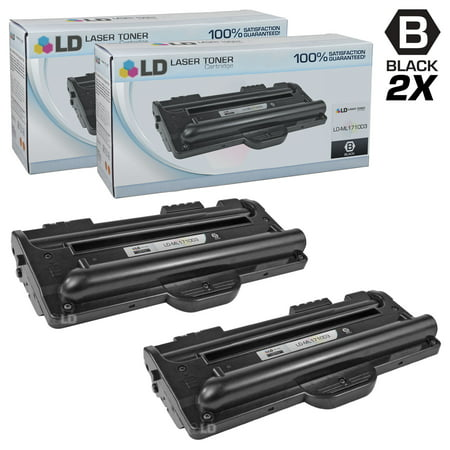 Compatible Replacements for Samsung ML-1710D3 Set of 2 Black Laser Toner Cartridges for use in the Samsung ML 1500, 1510, 1510B, 1520, 1710, 1710B, 1710D, 1710P, 1740, 1750, and 1755 (Samsung Laser Printer Ml 1740 Driver Windows 7)