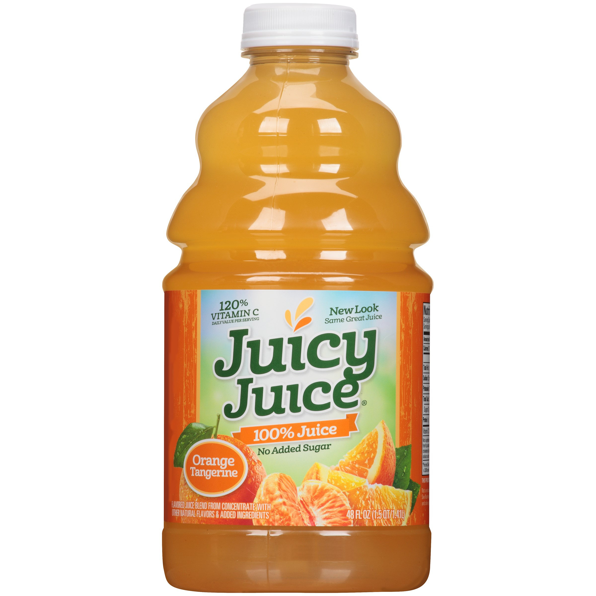 Juicy Juice 100% Juice, Orange Tangerine, 48 Fl Oz, 1 Count
